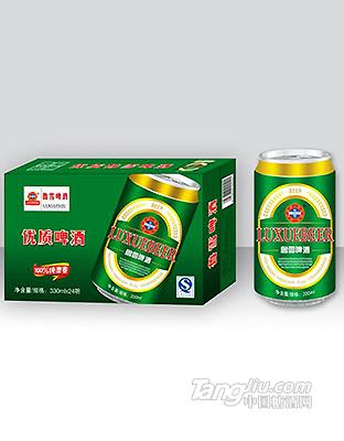 鲁雪优质啤酒 330ml