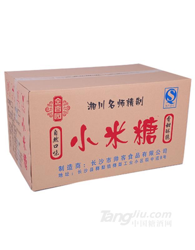 金香园奶油小米糖箱装