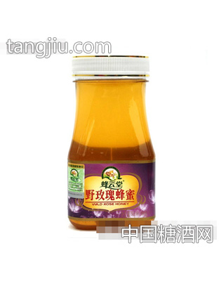 蜂云堂纯天然野玫瑰蜂蜜500克