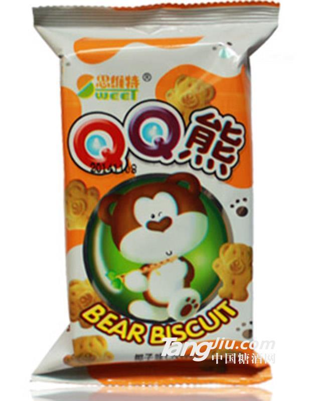 QQ熊椰子味饼干