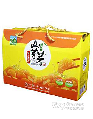 山芽芽 橘子罐头礼盒