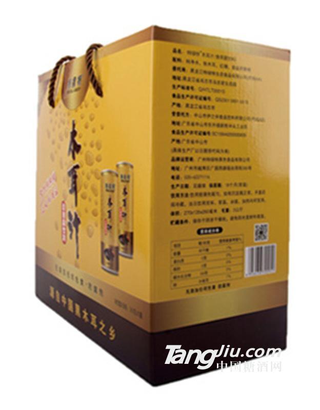 特绿特-木耳汁礼盒侧面详情-245g