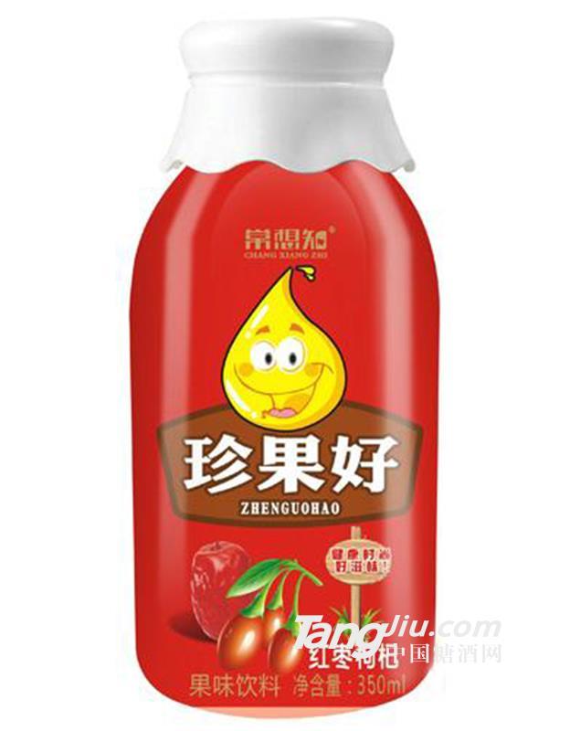 常想知珍果好红枣枸杞饮料果味饮料350ml