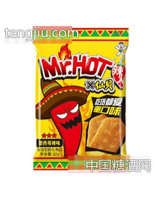 旺旺Mr.Hot辣人仙贝墨西哥辣味82g