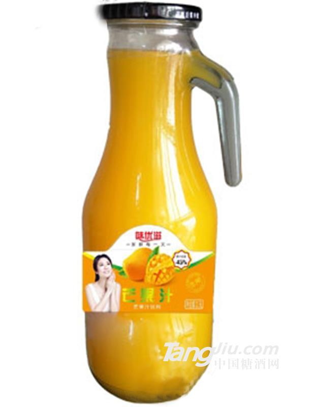 味优滋生榨芒果汁1.5L