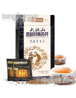 正中150g黑苦荞茶盒装