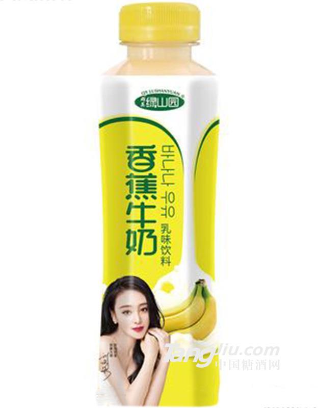 香蕉牛奶乳味饮料500ml