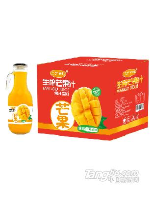 三分天地生榨芒果汁1.5Lx6