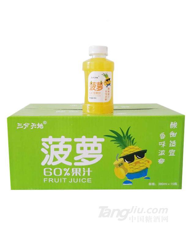 三分天地菠萝汁380mlx15瓶