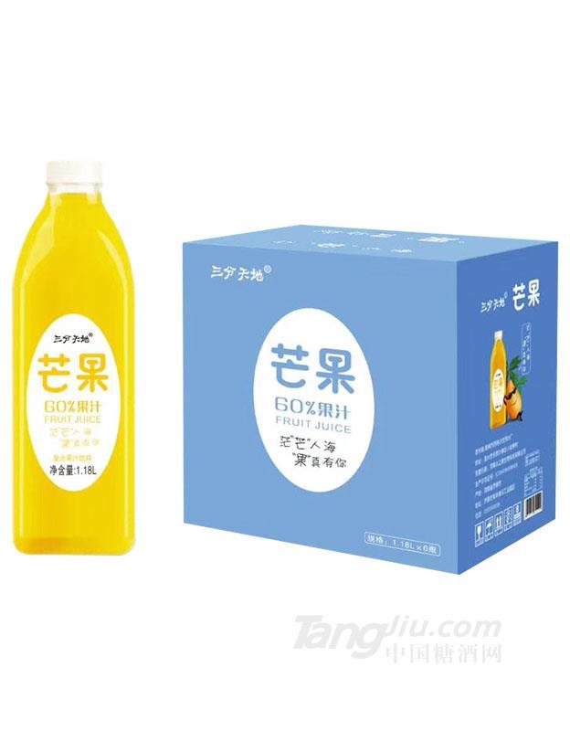 三分天地芒果汁1.18Lx6瓶