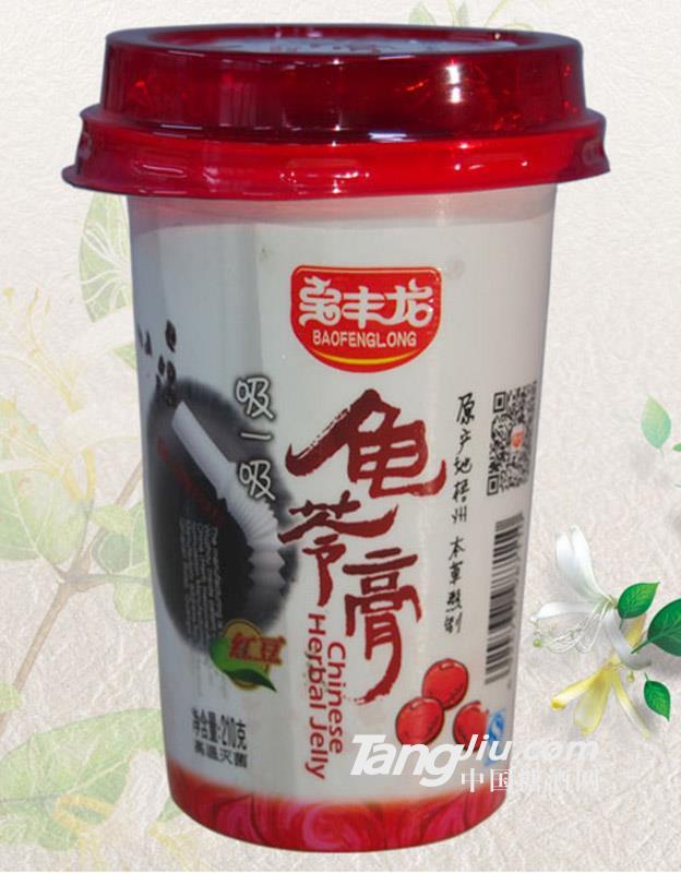 宝丰龙红豆可吸龟苓膏210g