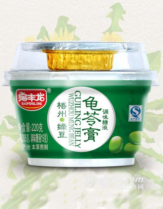 宝丰龙绿豆龟苓膏