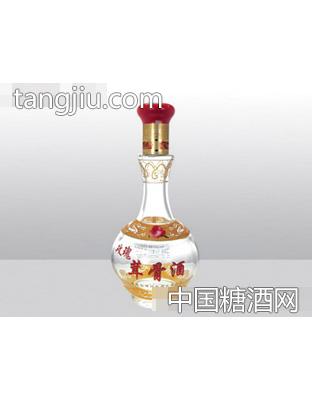 鑫泰高白料玻璃瓶玫瑰茸骨酒YT