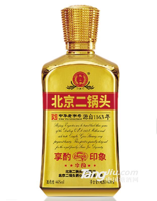 46°北京二锅头大方瓶享酌印象600ml