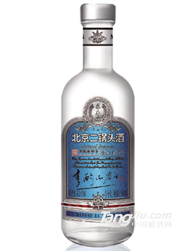 42°北京二锅头小圆瓶享酌品鉴酒(蓝标)500ml