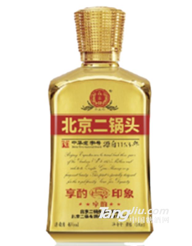 46°北京二锅头享酌印象酒(金)600ml
