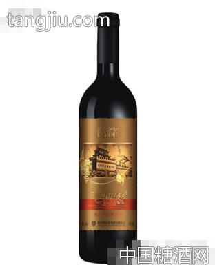 金色嘉邑35年树龄窖藏干红葡萄酒
