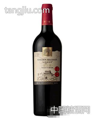 金色嘉邑香黑品诺窖藏3干红葡萄酒