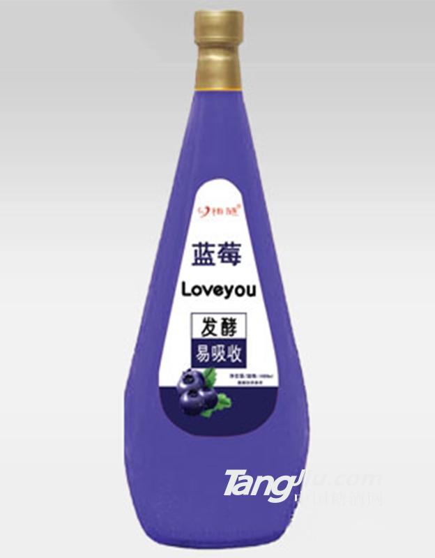 心相随蓝莓汁1688ml