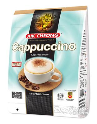 马来西亚原装进口益昌老街卡布奇诺泡沫速溶咖啡粉