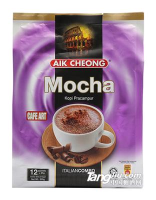 马来西亚原装进口 益昌香浓速溶摩卡咖啡粉2袋装