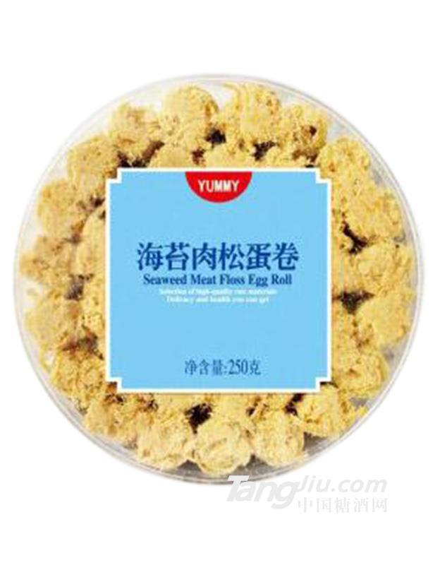 粤嘉香海苔肉松蛋卷250g