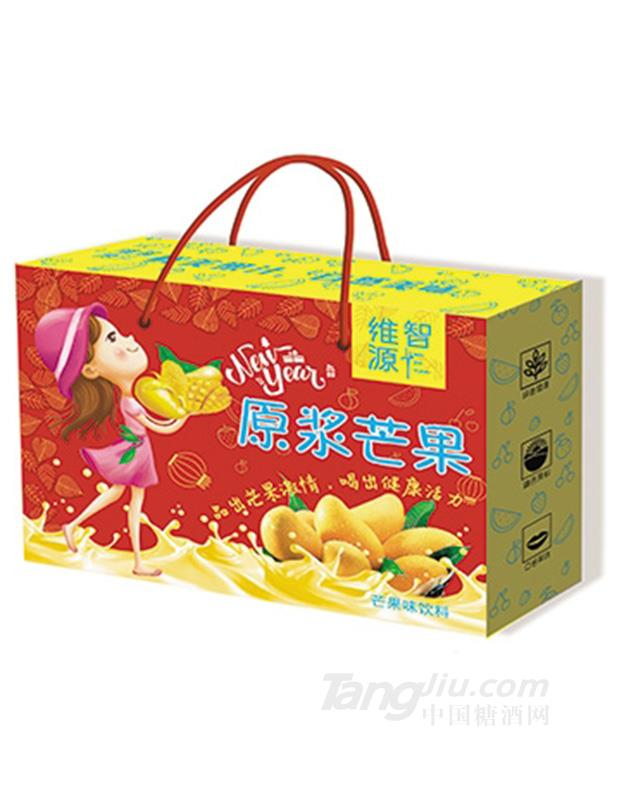 维智源原浆芒果果味饮料488mlx6盒