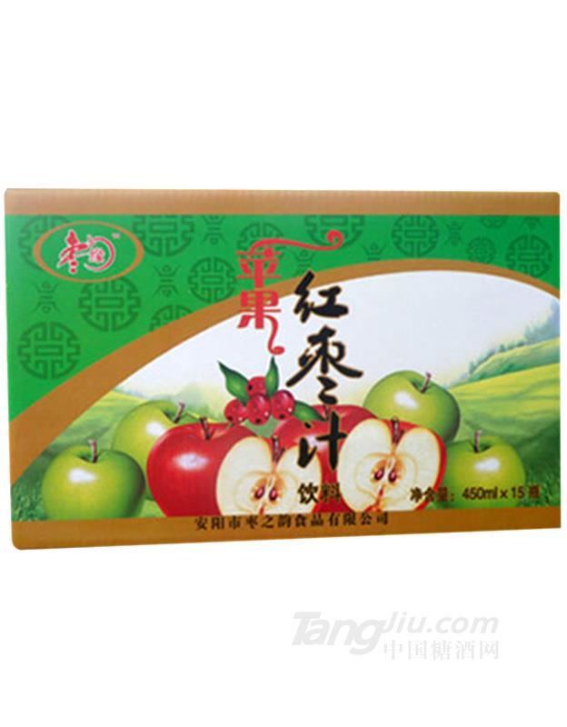 枣之韵苹果红枣汁