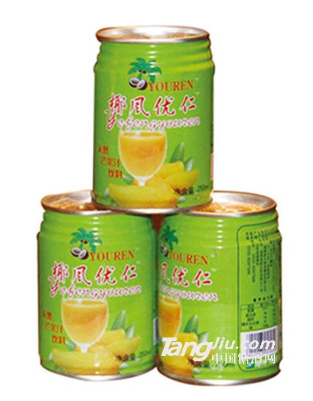 250ml椰风优仁芒果汁