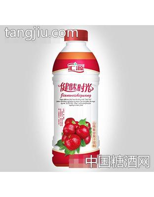 汇源健味时光山楂复合果汁饮料1L