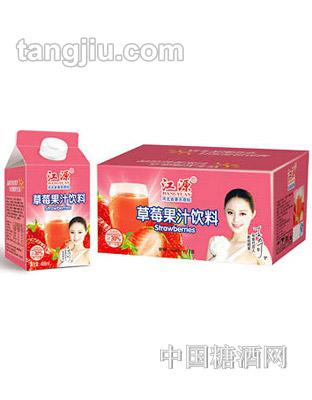 江源饮品草莓果汁488ml