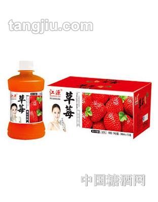 江源草莓汁380ml