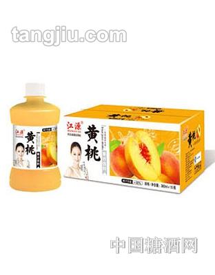 江源黄桃汁380ml