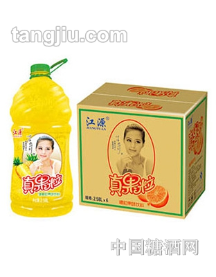 江源真果粒-菠萝粒2.58L