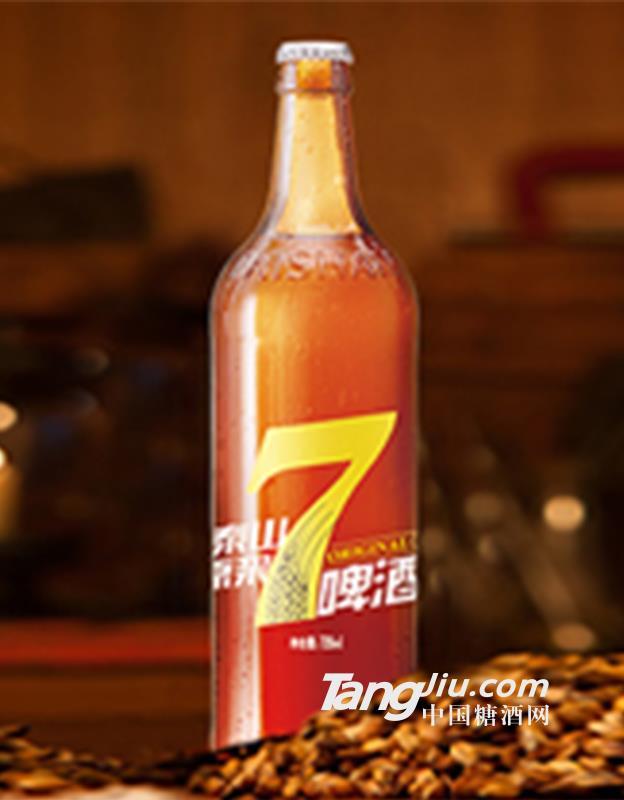 7天泰山原浆啤酒