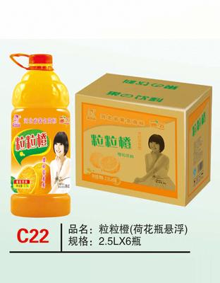 C22粒粒橙(荷花瓶悬浮)