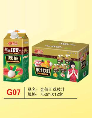 G07金佰汇荔枝汁