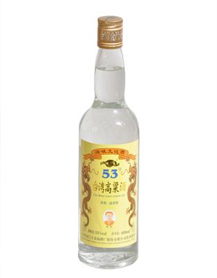 金门高粱酒-黄金龙53度600ml简瓶装