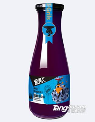 黑美人1L蓝莓汁饮料