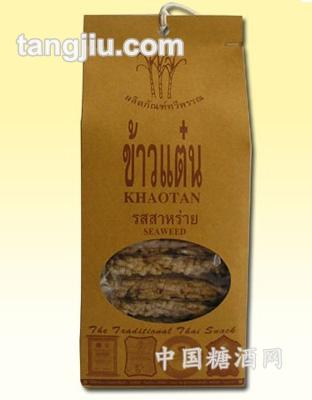 泰威牌海苔味香米饼110g