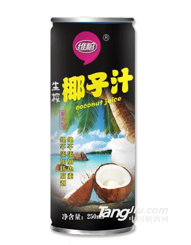 250ml维榕生榨椰子汁