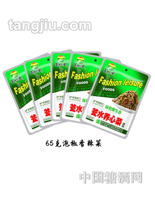 65g泡椒香辣菜