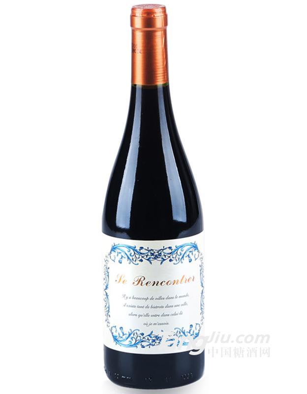遇见红葡萄酒