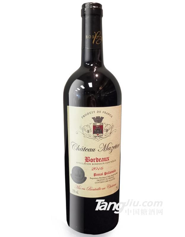 麦特城堡红葡萄酒