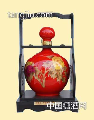 封坛原浆花开富贵酒(红)