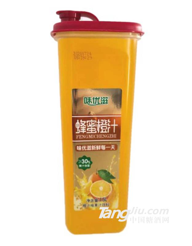 味优滋蜂蜜橙汁果汁饮料