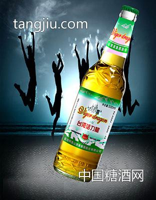 台湾活力龙玻璃瓶啤酒500ml