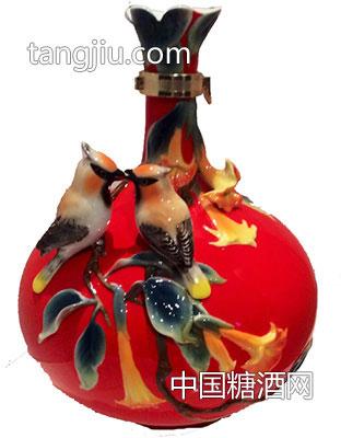 古井镇弘扬瓷艺术酒瓶11-古家百年