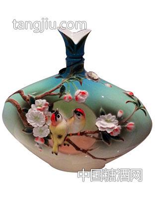 古井镇弘扬瓷艺术酒瓶9 -古家百年