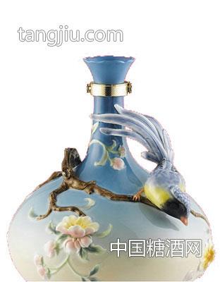 古井镇弘扬瓷艺术酒瓶-古家百年